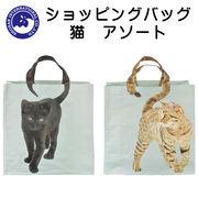 ■湘南インターナショナル■■2019SS 新作■ ショッピングバッグ 猫 アソート