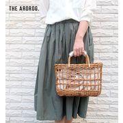 【KAGOBAG】THE AROROG アラログ透かし編みトートバッグ