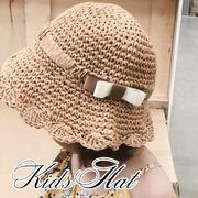 vnsh000544◆5000以上【送料無料】◆キッズ麦わら帽子★日除け帽★折りたたみ