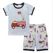 【韓国ファッション】 寝間着 パジャマ 子供服 Tパンツ シャツ 子供スーツ キッズ 半袖