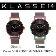 【まとめ割10%OFF】KLASSE14 クラス14 腕時計 VOLARE VO15TI002 36mm 42mm レインボー メッシュベルト