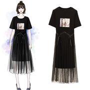 【大きいサイズXL-5XL】【春夏新作】ファッションワンピース