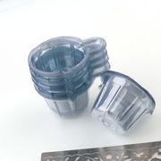 50個 調色カップ レジン用 プラスチック 使い捨て 調色 カップ ハンドメイド 工具 ツール 手芸作業に