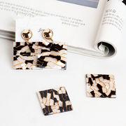 ハンドメイド アクセサリー制作 四角形 デコパーツ diy用品 手芸材料 おしゃれ