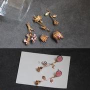アクセサリーパーツ ネックレス部品 手作り材料 ハンドメイド素材 フラワー