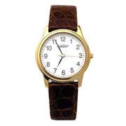 AUREOLE/オレオール AUREOLE (オレオール) 腕時計 本ワニ革 SW-467M-2
