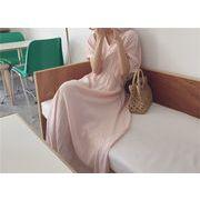 Fashions 限定発売  カジュアル フレンチ エレガント ヴィンテージ 穏やかな風  怠惰な風  ワンビース