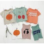 子供シャツ キッズ服 夏 ブラウス  トップス 男の子 女の子 ベスト tシャツ カジュアル系