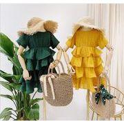 キッズワンピース ファッション 女の子 カジュアル ワンピース デザイン 夏