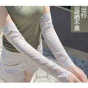 「雑貨」 生活用品 腕カバー 紫外線対策 レース 日焼け止め