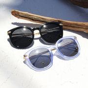 サングラス メガネ 眼鏡 小物 マーブルフレーム UV対策 ミラーレンズ オシャレサングラス 海
