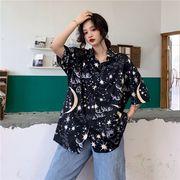 春夏新商730785  大きいサイズ 韓国 レディース ファッション ポロシャツ ワンピース  LL-4L