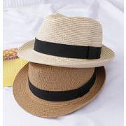 夏新作 激安 キッズ  帽子 キャップ 日焼け止め 麦わら帽子 ペア