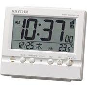 リズム時計工業 電波目覚まし時計 フィットウェーブヴィスタ 8RZ201SR03