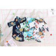 新作 ハワイ風 ワンちゃん服 ドッグウェア 犬 猫服 猫 ペット ペット用品 全4色(XS-XXL)