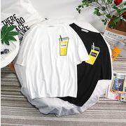 【ファッション夏新作】 Tシャツ 半袖Tシャツ メンズ クルーネック 原宿風 ファッション Oversize