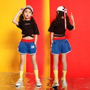 Tシャツ 子供用コスチューム 半袖 女の子 短パン 半ズボン セット上下2点 大きいサイズ 韓国子供服セール