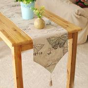 激安☆★ins北欧キッチン用品◆装飾◆ブリッジランナー◆テーブルランナー◆プリント サイズ選択