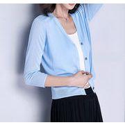 カーディガン レディース UVカット 汗染み防止 春夏服 春夏物  紫外線対策 トップス  大きいサイズ 長袖