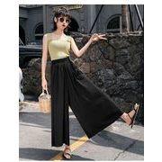 春夏新商品730804 大きいサイズ ドレス 婦人服 日韓風 パンツ3L 4L 5L 6L