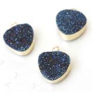 ドゥルージー かどまるさんかくパーツ(ブルー) 1.2cm×1.2cm 品番: 7854