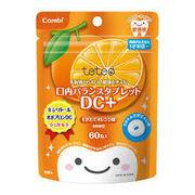 テテオ 乳歯期からお口の健康を考えた口内バランスタブレット DC+もぎたてオレンジ味