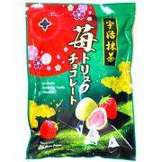 宇治抹茶 莓トリュフチョコレート160g