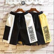 【大きいサイズM-5XL】ファッション/人気半ズボン♪ホワイト/イエロー2色展開◆