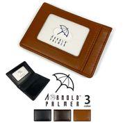 【全3色】 Arnold Palmer アーノルドパーマー 定期入れ カードケース パスケース リアルレザー