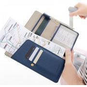 パスポートケース パスポートカバー カードケース  スキミング防止 高級PU 海外旅行