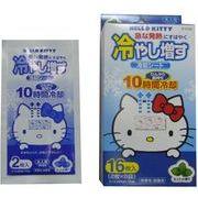 冷却シート ハローキティ(HELLO KITTY)  ミントの香り (16枚入) /日本製   sangost