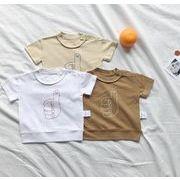 子供シャツ キッズ服 夏 ブラウス  トップス 男の子  女の子tシャツ カジュアル系
