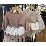 ★新作アパレル★子供 長袖 ワンピース★トップス★女の子 ドレス
