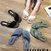 夏も使える♪♪限定SALE/韓国ファッション 2019 激安 存在感抜群 靴 ビーチ サンダル 全4色  春夏 新作