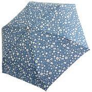 サンマルコ折りたたみ傘 ミッフィー総柄/ブルー 53cm
