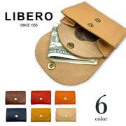【全6色】 LIBERO リベロ 日本製 イタリアンレザー ミニ財布 リアルレザー 牛革