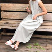 夏3色★最強の新作ins★韓国ファッション可愛 レディーズ 合わせやすい カジュアル ドット ワンピース