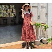 【大きいサイズL-4XL】【春夏新作】ファッションワンピース