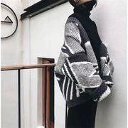毎年人気のクラシックタイプ  秋冬物 プリント ウール ストール セーター 厚手 コート