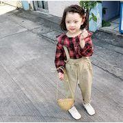 子供服 秋 tシャツ+パンツ 女の子 ボーダー セットアップ 2点セット カジュアル