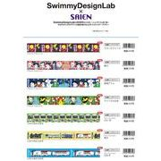 SwimmyDesignLab×SAIEN コラボ第一弾 12柄