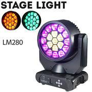 舞台照明 LM280 ムーヴィングヘッド パーライト スポットライト LED 15W×19 RGBW 4in1