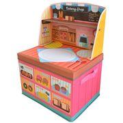 ままごと 収納 ボックス (ベーカリーショップ)男の子向き 子供部屋 収納 お片付け(在庫処分)