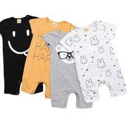 ベビー服 新生児服 子供服 赤ちゃん ベビーロンパース 女の子 男の子 カバーオール オールインワン