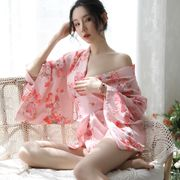 【即日出荷】ピンク色  セクシー着物ドレス  浴衣 コスプレ衣装 【3037】