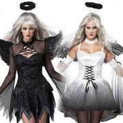 ハロウィン 万聖節 天使 cosplay 衣装大人 仮面舞踏会 衣装 万聖節 コスプレ服