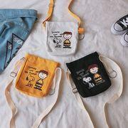【ファッション新品】 バッグ ショルダーバッグ キャンバスバッグ レディース スヌーピー