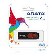 A-DATA永久保証・4GB【USBメモリAC008-4G-RKD】スライド式