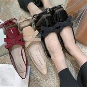 初回送料無料 2019 太ヒール 蝶むすび 靴 パンプス 全3色 cjozy-1908a979春夏 新作