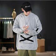 【大きいサイズM-5XL】ファッション/人気トップス♪ブラック/グレー/ダークグリーン3色展開◆